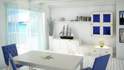 mobili stile marinaro Roma #11