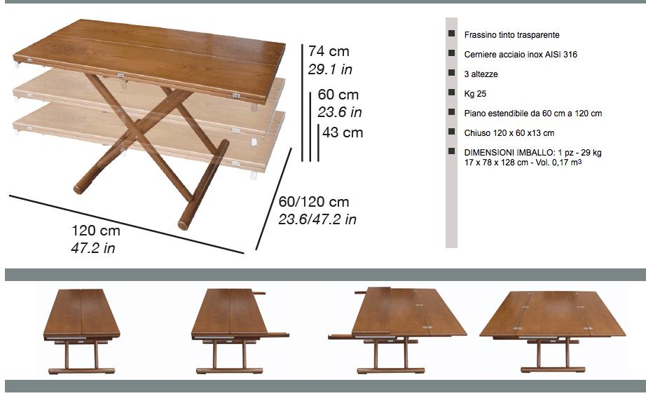Tavolo per esterno milano