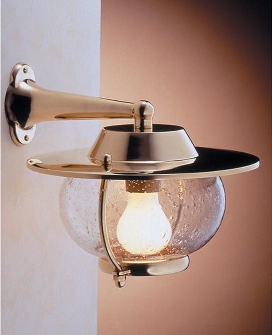 Lampade applique in ottone da parete roma marcos roma for Lampade design