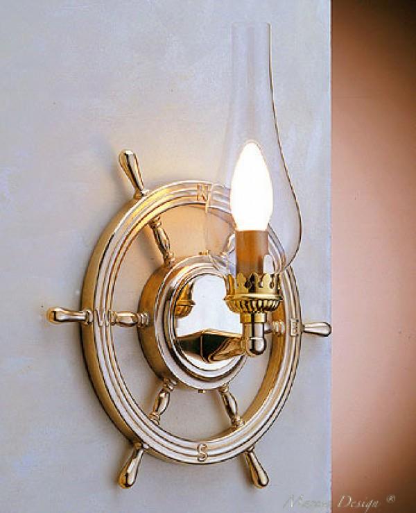 Applique da parete stile marino Roma